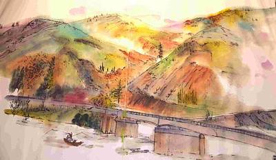 Painting - A Trip To Lewiston  In Autumn Album by Debbi Saccomanno Chan