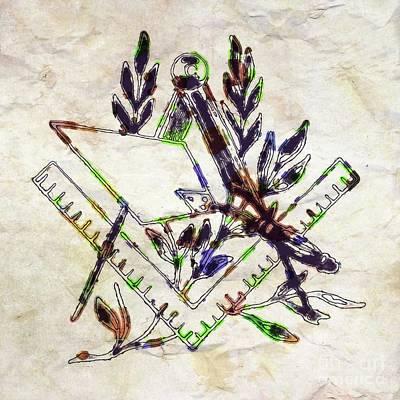 Seeing Digital Art - Ancient Freemasonic Symbolism By Pierre Blanchard by Pierre Blanchard