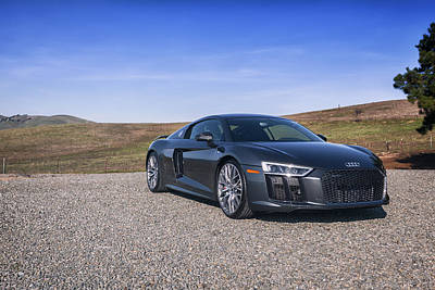 Photograph - #audi #r8 #v10plus #print by ItzKirb Photography