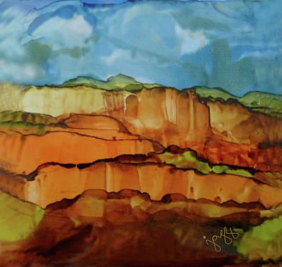 Jazz Art Painting - 9-b Landscape by Jazz Art
