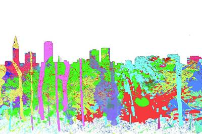 Digital Art - Baton Rouge Louisiana by Marlene Watson