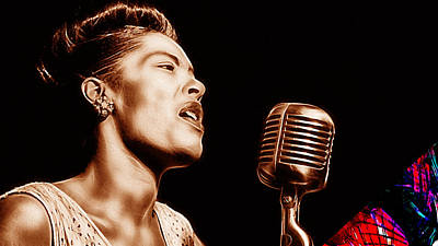 Billie Holiday Collection Art Print