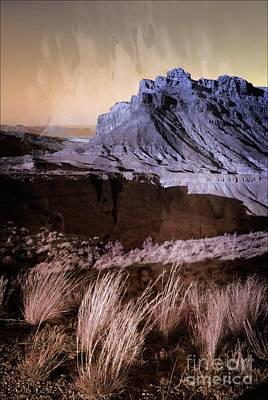 Mixed Media - Castle Valley Utah Usa by Bob Pardue
