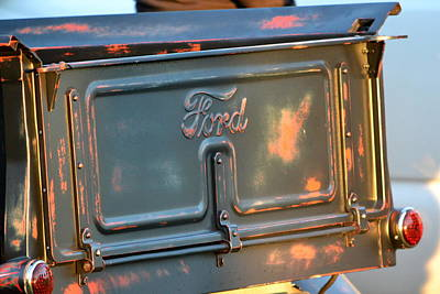 Photograph - Classic Ford Pickup by Dean Ferreira
