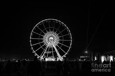 Festival Art Photograph - Coachella Music Festival 2015 by Art K