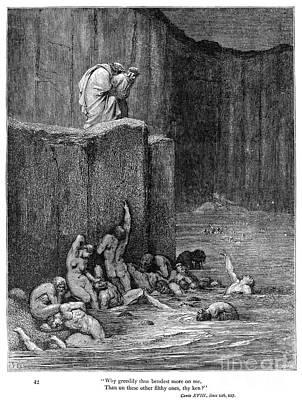 Dante: Inferno Art Print by Granger