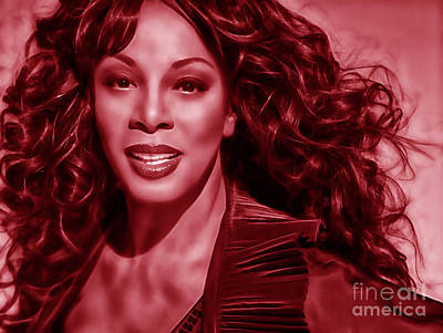 Summer Mixed Media - Donna Summer Collection by Marvin Blaine