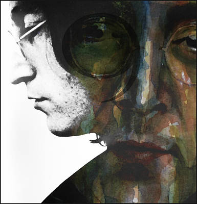John Lennon Wall Art - Mixed Media - #9 Dream by Paul Lovering