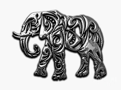 Elephant Collection Art Print by Marvin Blaine