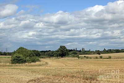Photograph - English Countryside by Julia Gavin