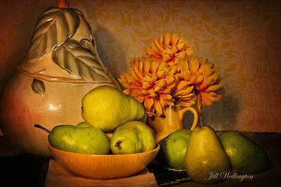 Digital Art - Fall Harvest by Jill Wellington