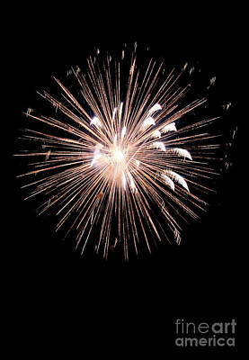 Fireworks Art Print by Brent Parks