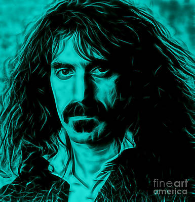 Frank Mixed Media - Frank Zappa Collection by Marvin Blaine
