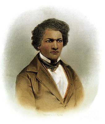 Drawing - Frederick Douglass by Granger