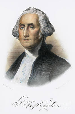 Photograph - George Washington by Granger