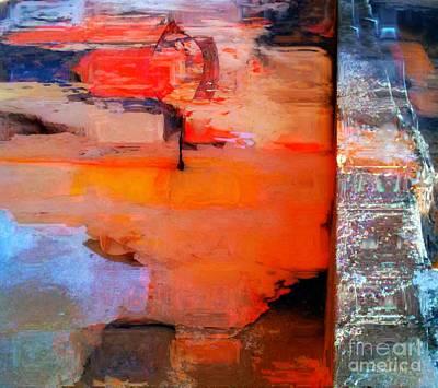Goree Texture - Exploring Art Print