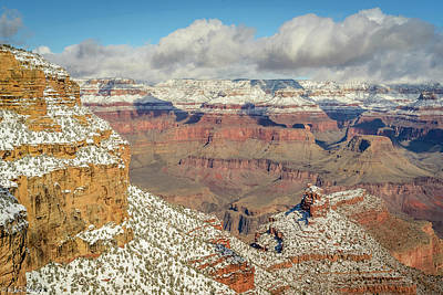 Photograph - Grand Canyon by Mike Ronnebeck