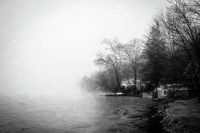 Photograph - Green Pond New Jersey Winter 404 by Rich Franco