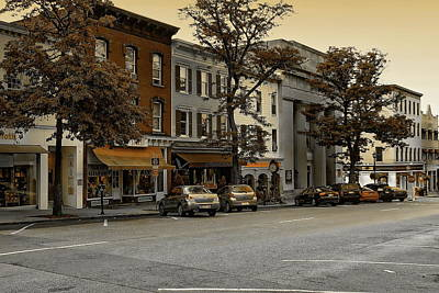 Photograph - Greenwich Avenue by Anthony Dezenzio