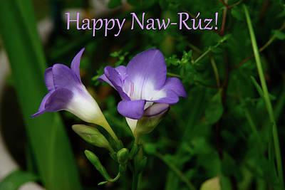 Tulip Pics Photograph - Happy Naw-ruz by Baha'i Writings As Art