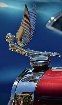 Photograph - Hood Ornament by Dean Ferreira