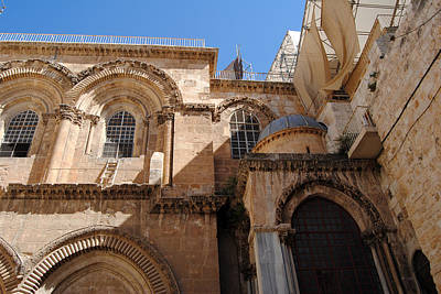 Photograph - Church Of The Holy Sepulchre 3 - Jerusalem by Isam Awad