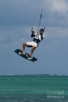 Garden Fruits - Kite surfing in Grand Cayman by Anthony Totah