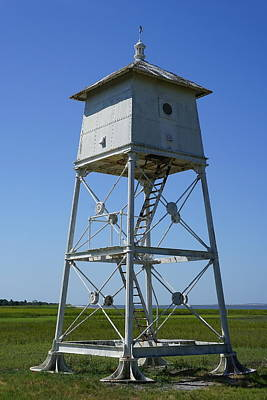 Photograph - Sapelo Island Rear Range Light by Laurie Perry