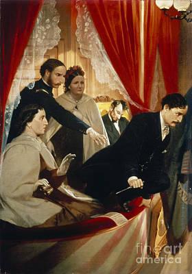 Lincoln Assassination Art Print by Granger