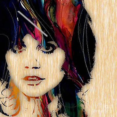 Pop Singer Mixed Media - Linda Ronstadt Collection by Marvin Blaine