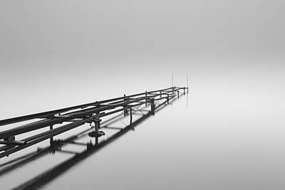 Photograph - Loch Lomond Jetty by Grant Glendinning