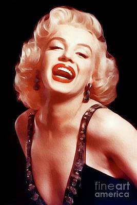 Actors Royalty-Free and Rights-Managed Images - Marilyn Monroe, Actress and Model by John Springfield