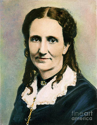 Photograph - Mary Baker Eddy, 1821-1910 by Granger