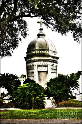 Photograph - Metairie Cemetery by Janice Spivey