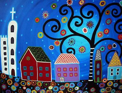 Mexican Town Original by Pristine Cartera Turkus