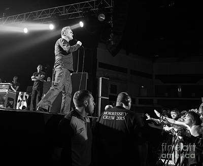 Photograph - Morrissey by Jenny Potter