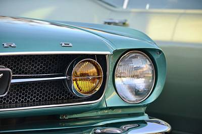 Photograph - Mustang Fastback by Dean Ferreira