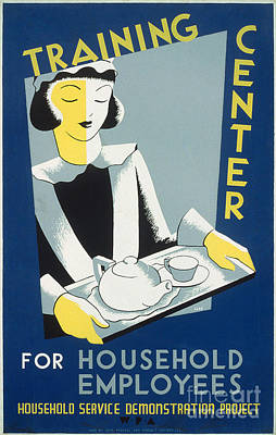 Photograph - New Deal: Wpa Poster by Granger