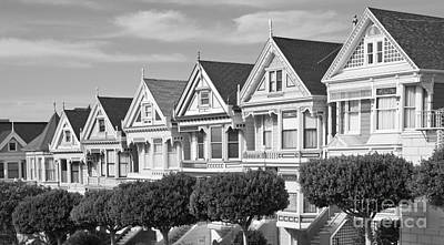 Bath Time Rights Managed Images - Painted Ladies in San Francisco Royalty-Free Image by ELITE IMAGE photography By Chad McDermott
