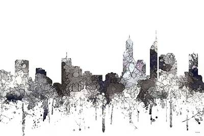 Wa Digital Art - Perth  Australia Skyline  by Marlene Watson