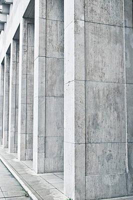 Brutalist Photograph - Pillars by Tom Gowanlock