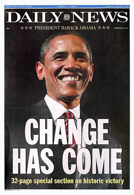 2008 Election Photograph - Presidential Campaign, 2008 by Granger