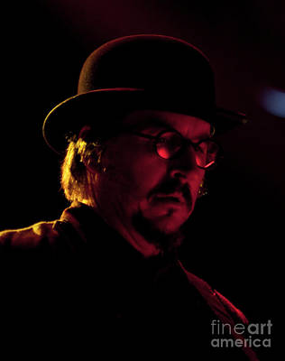 Primus At All Good Festival - Les Claypool Art Print by David Oppenheimer