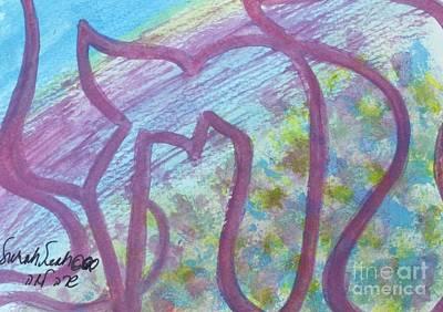 Painting - Rachel by Hebrewletters Sl