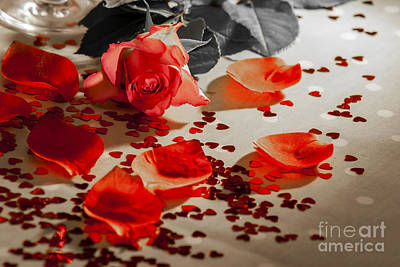 Alchol Photograph - Roses by Sebastien Coell