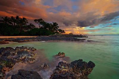Photograph - Secret Beach by James Roemmling