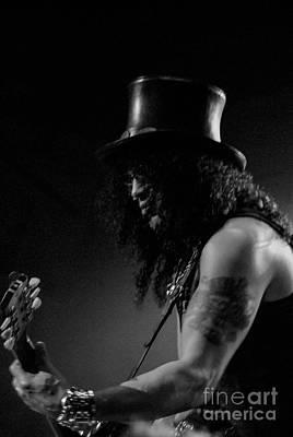 Velvet Revolver Photograph - Slash by Jenny Potter