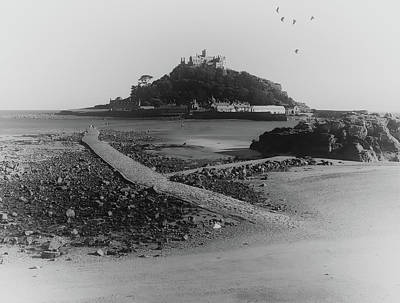 Travel Rights Managed Images - St Michaels Mount Royalty-Free Image by Martin Newman