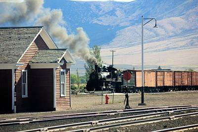 Photograph - Steam Train by Douglas Miller