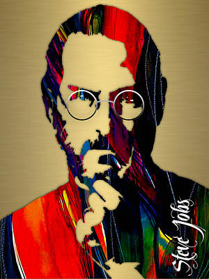 Steve Jobs Collection Art Print by Marvin Blaine